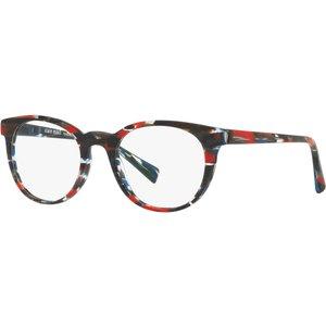 Alain Mikli Al3063 002 Stripped Blue-red-black Contact Lenses