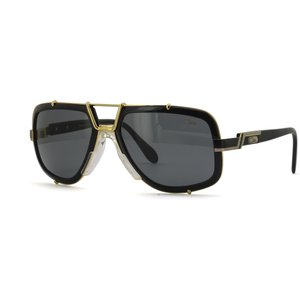 Cazal Legends 656/3 001 Shiny Black-gold/grey Contact Lenses