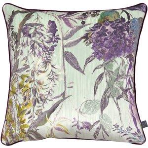 Prestigious Textiles Botanist Cushion Evergreen Botanist/1cc/eve Living Room, Evergreen