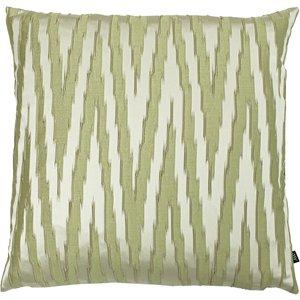 Ashley Wilde Fenix Printed Cushion Fern/olive Fenix/cc3/feol Living Room, Fern/Olive