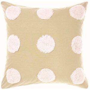 Linen House Haze Tufted Pillow Sham Pink/sand Lhhaze/b05/pnsa Beds, Pink/Sand