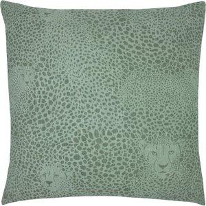 Furn. Hidden Cheetah Cushion Sage Hcheeta/cc3/sag Living Room, Sage