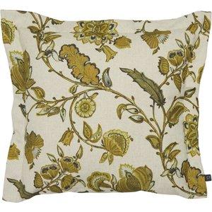 Prestigious Textiles Kenwood Cushion Ochre Kenwood/cc3/ocr Living Room, Ochre