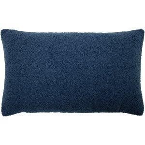 Furn. Malham Fleece Rectangular Cushion Royal Malham/3cc/royal Living Room, Royal