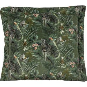 Evans Lichfield Manyara Zebra Square Cushion Multicolour Manyara/cc3/zeb Living Room, Multicolour