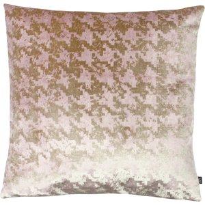 Ashley Wilde Nevado Velvet Jacquard Cushion Rose Gold/blush Nevado/cc3/rgbl Living Room, Rose Gold/Blush