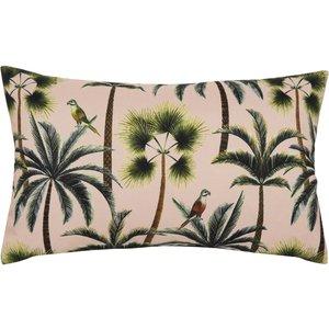 Evans Lichfield Palms Rectangular Outdoor Cushion Blush Palms/3cc/bls Living Room, Blush