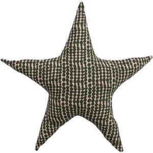 Little Furn. Printed Star Kids Cushion Pink/mustard 770psta/rf/pnmu Living Room, Pink/Mustard