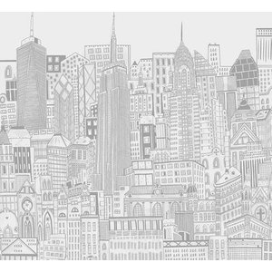 Art For The Home Mural City Sketch 113161 Diy