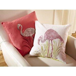 Arthouse Cushion Lagoon Pink Embroidered Cushion 008252 Diy