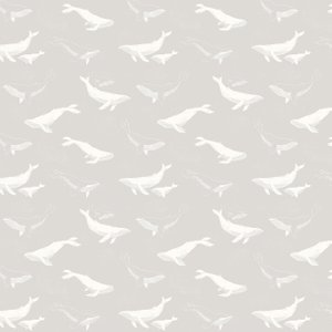 Boråstapeter Wallpaper Whales 7452 Diy