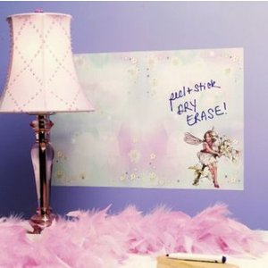 Creative Wall Art Stickers Dry Erase Flower Fairies, 16009 Painting & Decorating