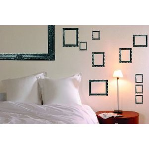 Creative Wall Art Stickers Frames, 160370 Painting & Decorating