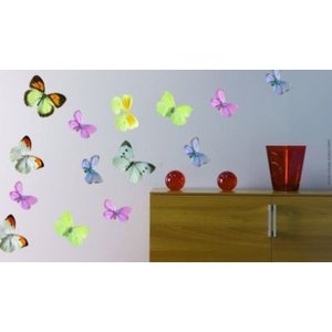 Creative Wall Art Stickers Medium Butterfly Stickers, 160728 Painting & Decorating