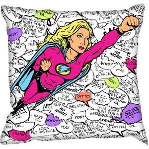 Digetex Cushions Super Woman Cushion, Super Woman Furniture Accessories