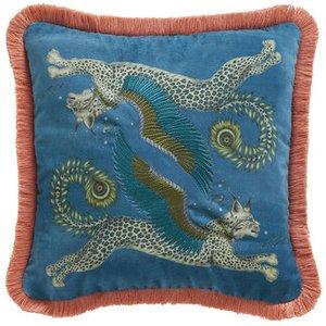 Emma J Shipley Cushion Lynx Square Cushion M2176/01 Diy