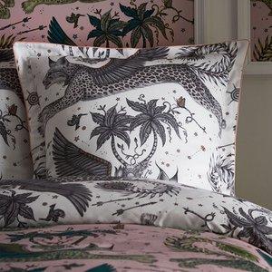 Emma J Shipley Pillowcase Lynx Oxford Square Pillowcase M2160/01 Diy