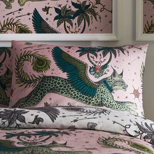 Emma J Shipley Pillowcase Lynx Standard Pillowcase Pair M2154/01 Diy