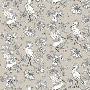 Florence Broadhurst Wallpaper Egrets Fb1449 Diy