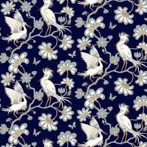 Florence Broadhurst Wallpaper Egrets Fb1452 Diy