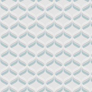 Fresco Wallpaper Retro Ogee 107977 Diy