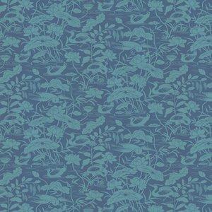 G P & J Baker Wallpaper Heron & Lotus Flower Bw45089/4 Diy