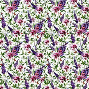 Isabelle Boxall Wallpaper Buddleia Ib5003 Diy