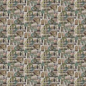 Josephine Munsey Wallpaper Peacock Arches Jmw-101101 Diy
