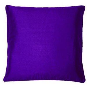 Kandola Cushion Silk Cushion 170 Dark Purple Diy