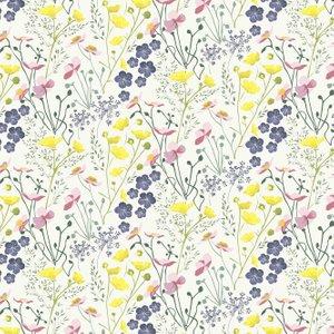 Lorna Syson Wallpaper Meadow Mew Diy
