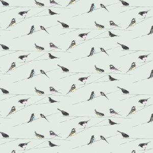 Louise Body Wallpaper Garden Birds Blue Garden Birds Diy