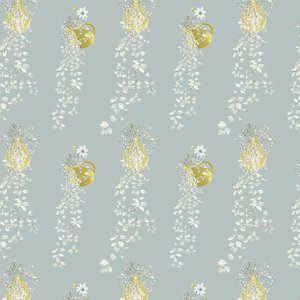 Louise Body Wallpaper Traily Plant Silver Traily Plant Silver Diy