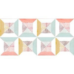 Louise Body Wallpapers Peggy Tile, Peggy Tile Coral Painting & Decorating