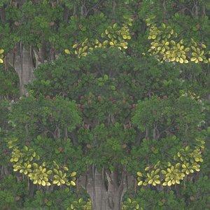 Mind The Gap Mural Savage Leaves Wp20466 Diy