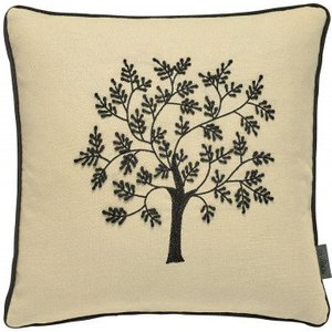 Morris Cushion Seaweed Embroidered Cushion 021055 Diy