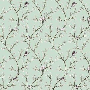 Petronella Hall Wallpaper Blossom B-we Diy