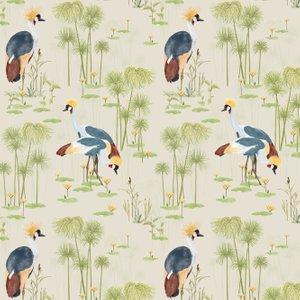 Petronella Hall Wallpaper Cranes Cr-ws Diy