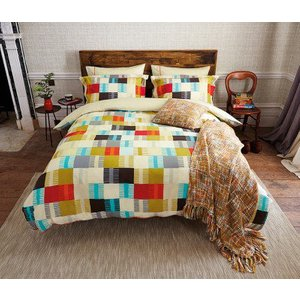 Scion Bedding Navajo Knitted Cushion, 318440 Home Textiles