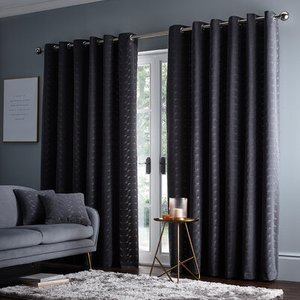 Studio G Ready Made Curtains Lucca Eyelet Curtains M1117/01/66x90 Diy