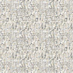 Tres Tintas Wallpaper 001 Lletres 1993-1 Diy