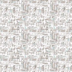 Tres Tintas Wallpaper 003 Ciutat 1998-5 Diy