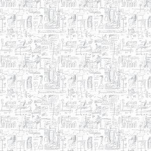 Tres Tintas Wallpaper 003 Ciutat 1998-6 Diy