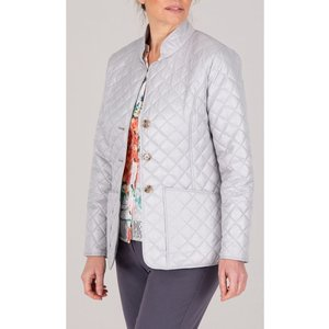 Anna Rose Quilted Jacket - Grey - 16 Fc1ngs1013016 General Clothing, GREY