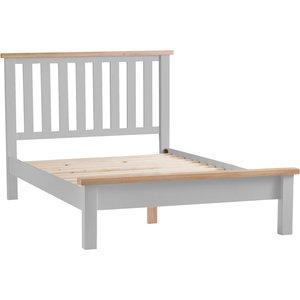 Chiltern Oak Furniture Suffolk Grey Painted Oak Super King Size Bed Frame Tt 60 G Beds, Grey Painted