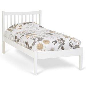 Elegant Furniture Alice Wooden Single Bed In Opal White Alic300owbed.sr