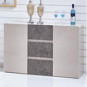 Elegant Furniture Belarus Wooden Sideboard Cream And Stone High Gloss Belaside.hf