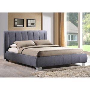 Elegant Furniture Braunston Fabric King Size Bed In Grey Brau 5 Grey.tl