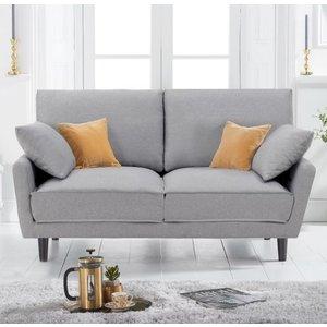 Elegant Furniture Caracus Linen Fabric 2 Seater Sofa In Grey Pt23013.mh