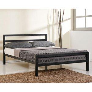 Elegant Furniture City Block Metal King Size Bed In Black Cit5 Blk.tl