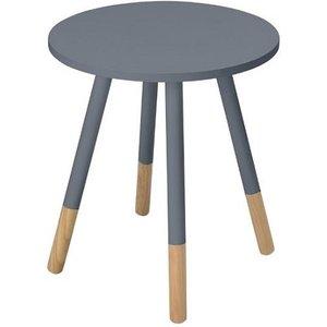 Elegant Furniture Costa Wooden Side Table In Grey Cosgre.lpd